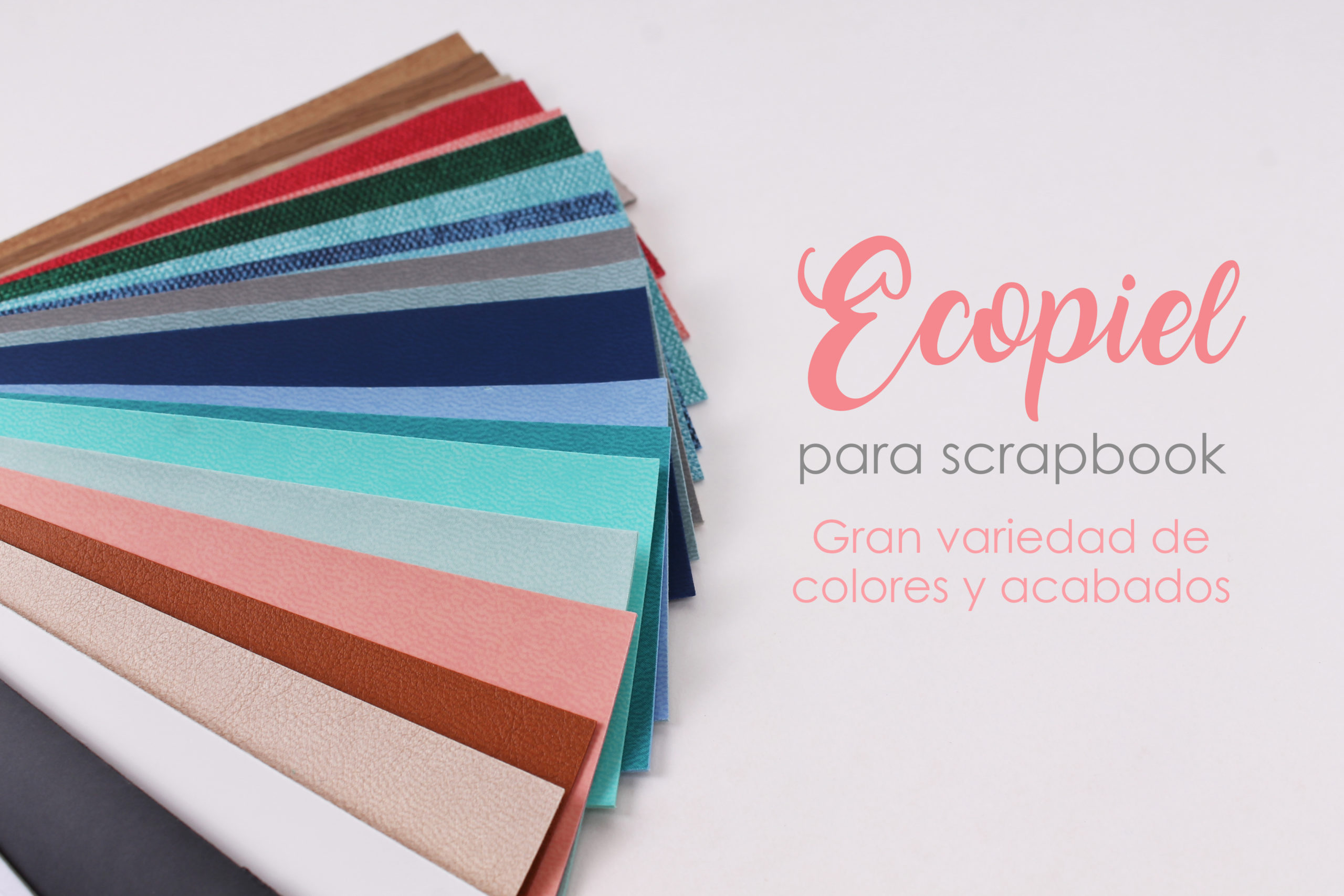 Colores y acabados ecopiel