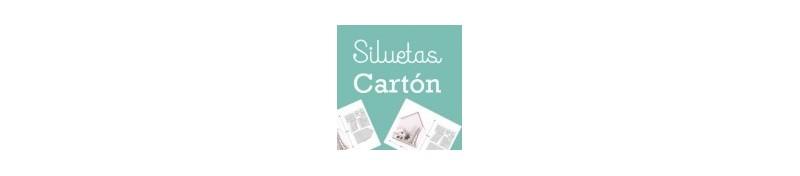 Siluetas cartón de artis decor, para tus proyectos de cartonaje