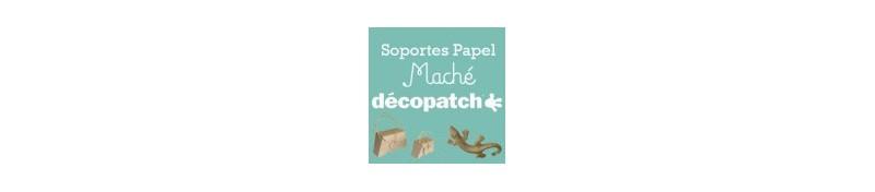 Soportes papel mache decopach, para tus proyectos de manualidades.