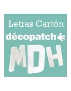 Letras Cartón Décopatch
