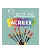 Pinceles Acrilex