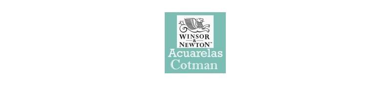 Acuarelas Cotman de Winsor & Newton, acuarelas reeves.
