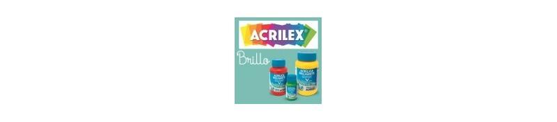 Pintura acrílica brillante para manualidades de Acrilex.