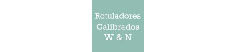 Rotuladores Calibrados W&N