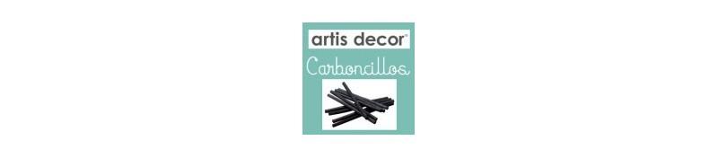 Carboncillos artis decor. Material de dibujo de la marca artis decor
