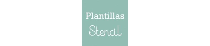 Plantilla stencil para tus proyectos decoupage, mix media y scrapbook.