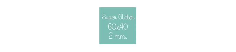 Super Glitter 60x40cm 2mm