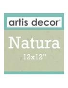 """Cartulina Natura 12x12"""""""