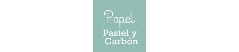 Papel específico de bellas artes para pastel y carbón
