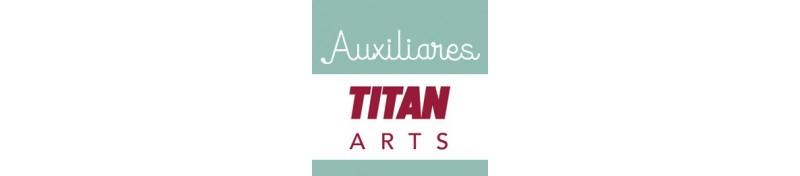 Auxiliares Titán para tus obras de bellas artes