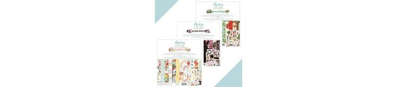 Sets de papeles scrapbook de la marca Mintay