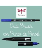 DUAL BRUSH con punta de Pincel