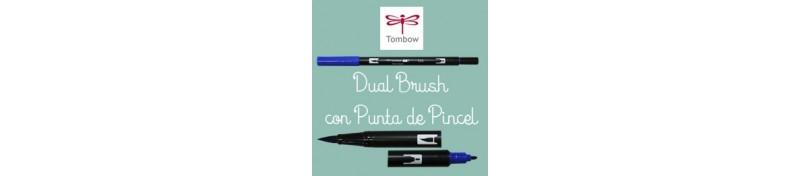 DUAL BRUSH con punta de Pincel