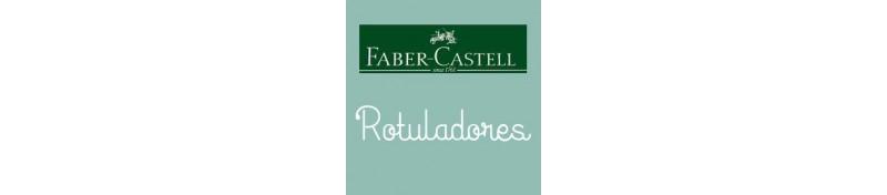 Rotuladores de Faber Castell