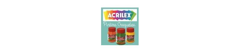 Pintura Craquelex de Acrilex para conseguir efecto craquelado.