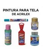 PINTURA PARA TELA DE ACRILEX