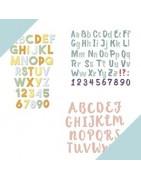 Troqueles de Letras y Números