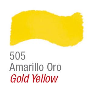 Pintura acrílica brillante Acrilex 505 amarillo oro