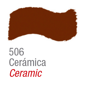 Pintura acrílica brillo Acrilex 506 cerámica