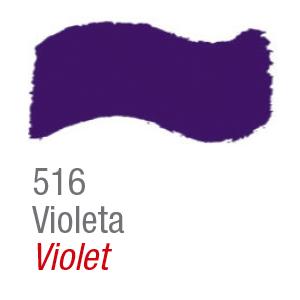 Pintura acrílica brillo Acrilex 516 violeta