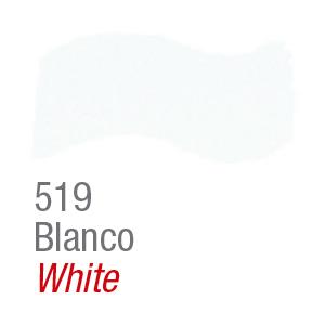 Pintura acrílica brillante Acrilex 519 blanco