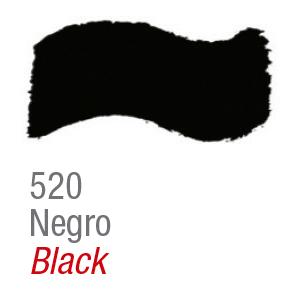 Pintura acrílica brillo Acrilex 520 negro