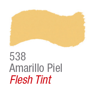 Pintura acrílica brillante Acrilex 538 amarillo piel