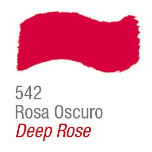 Pintura acrílica brillo Acrilex 542 rosa oscuro