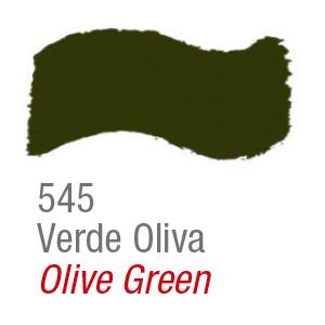 Pintura acrílica brillo Acrilex 545 verde oliva