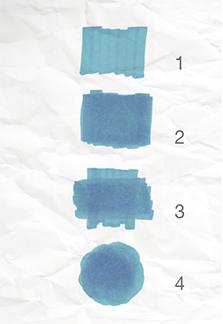 Aplicación color tombow